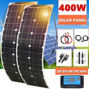 Solar Panel With Controller Car Yacht Battery Boat