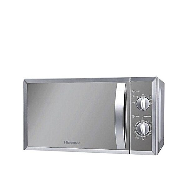hisense 20 litre microwave oven mirror silver