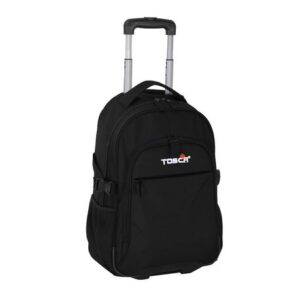 Tosca Laptop School Business Trolley - Black