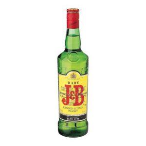 J&B Rare Scotch Whisky Bottle