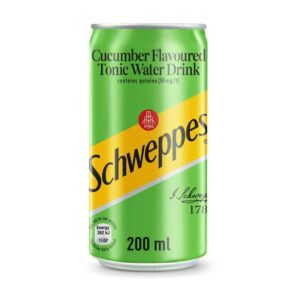 Schweppes Cucumber Tonic Can - 24 x 200ml