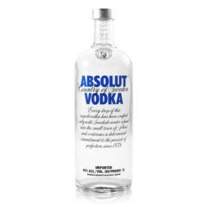 Absolut Vodka Sweden Original 750ml Bottle