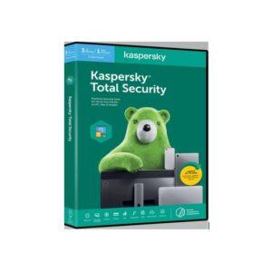 Kaspersky 2020 Total Security 3+1 DEV, 1Y DVD
