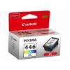 Canon 446xl High Yield Tri-Colour Ink Cartridge