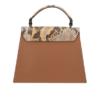 Charm London Elisa Leather Ladies Top Handle Hand Bag - Black