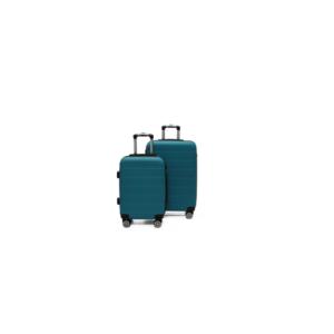 Side Kick Topaz 2 Piece Luggage Set - Sea Green