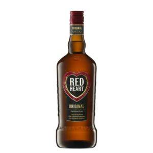 Red Heart Rum 750ml Bottle