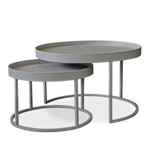 George & Mason - Tray Nesting Table