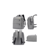 3 Pieces Business Travel Computer Daypack With USB Charging Port