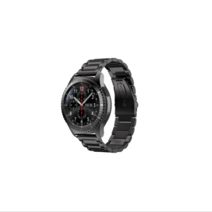 Link Bracelet Band for Samsung S3 Frontier/Classic Watch (S/M/L) - Black