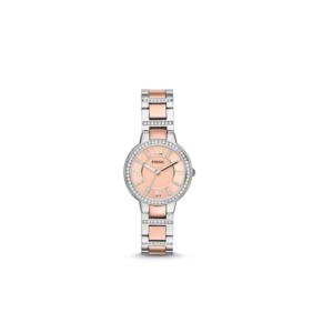 Fossil Ladies Virginia Multi Stainless Steel Strap Watch - ES3405