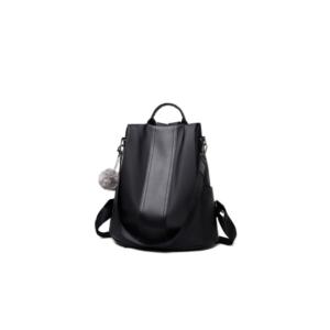 Iconix Ladies 3 Way Water-Resistant Anti-Theft Backpack - Black