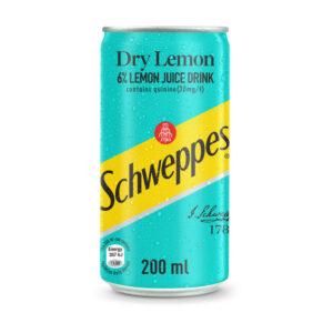 Schweppes - Dry Lemon - 24 x 200ml