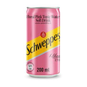 Schweppes Pink Tonic 200ml Case