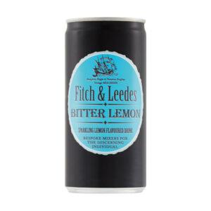 Fitch & Leedes Bitter Lemon - 24 x 200ml