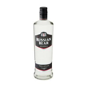 Russian Bear Vodka 750ml Bottle