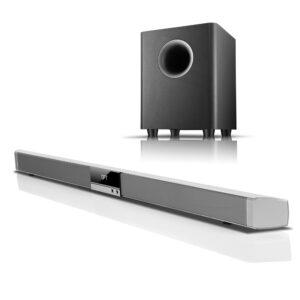 Sound Bar Speaker + Wireless Bluetooth Sub