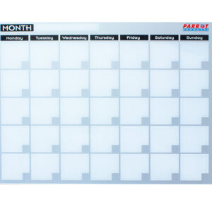 Monthly Planner Cast Acrylic - 600 x 450mm