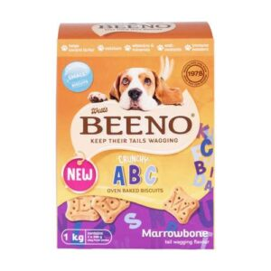 Beeno Biscuits Dog Small Marrow Bone flavour 1kg
