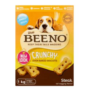 Beeno Biscuits Dog Small Steak flavour 1kg