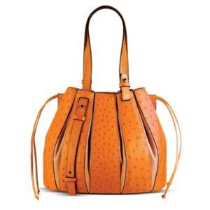 Fern - Ostrich Quill Bag