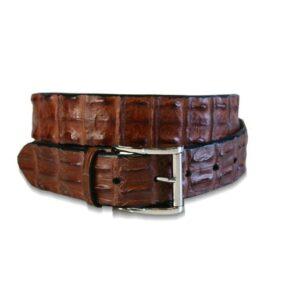Wato Hornback Crocodile Belt