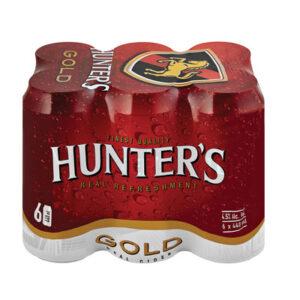 Hunters Cider Gold 440ml