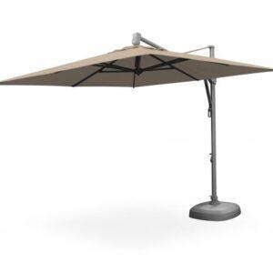 3x3 Hanging Aluminium Umbrella