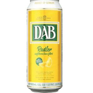 Dab Beer Shandy (Radler) Lemon Can 24x500ml