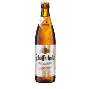 Schofferhofer Weizenbier Kristall Beer 18x500ml