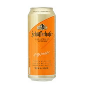 Schofferhofer Weizenbier Beer Can 24x500ml