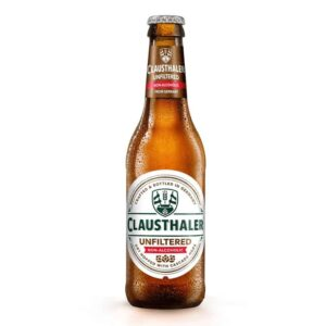 Clausthaler Beer Alcohol Free Unfiltered Bottle 24x300ml