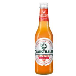 Clausthaler Beer Alcohol Free Grapefruit Bottle