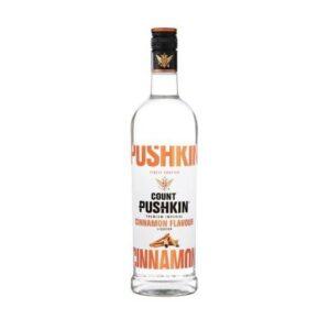 Count Pushkin Cinnamon Vodka 750ml