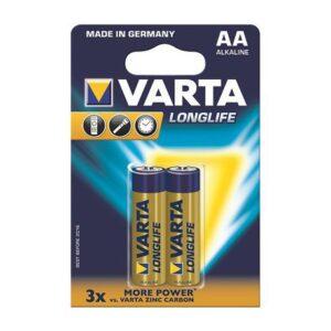 Varta Long life Batteries 9V Alkaline