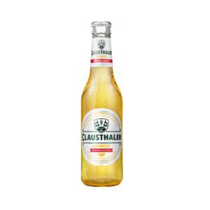 Clausthaler Beer Alcohol Free Lemon Bottle 24x330ml