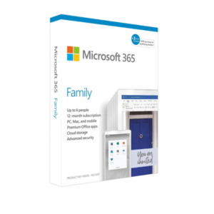 Microsoft 365 Family 1year Household Subscription 6GQ-01192-A