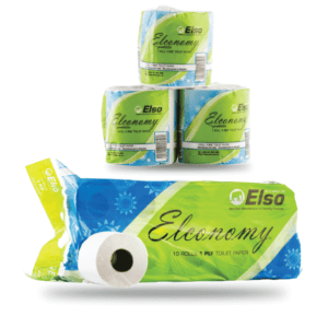 Elso Economy Toilet Papers 1Ply 500 sheets
