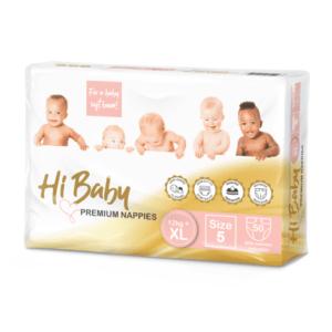 Hi Baby Premium Nappies 50's