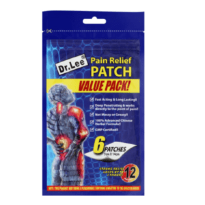 Dr Lee Pain Relief Patch 10x6's