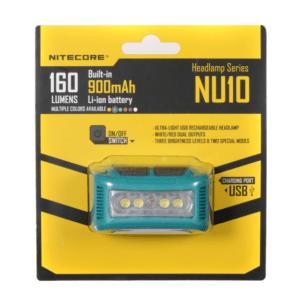 Nitecore NU10 160 Lumen LED Headlamp