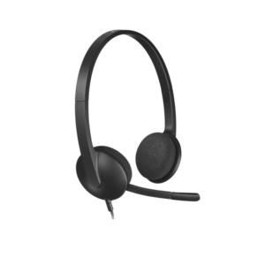 Logitech Wired Headset H340 Black