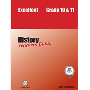 Excellent History Teacher's Guide 10&11