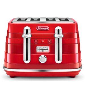 Delonghi Avvolta Class 4 Slice Toaster