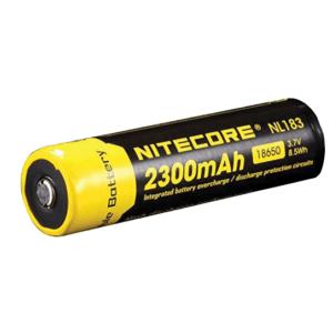 Nitecore 2300MAH Rechargeable 18650 Battery