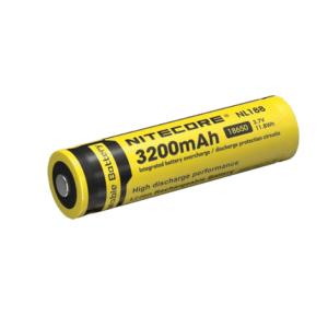 Nitecore 3200MAH Rechargeable 18650 Battery
