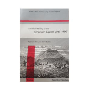 A Concise History Of The Rehoboth Basters