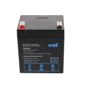 Sealed Lead-Acid Battery Well 12V 5Ah