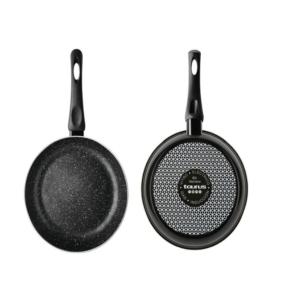Frying Pan Enamel Black Vital Stone