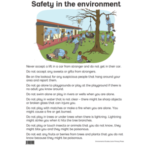Safety In The Environment - Poster